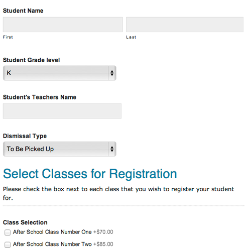 school registration forms template - Oyle.kalakaari.co