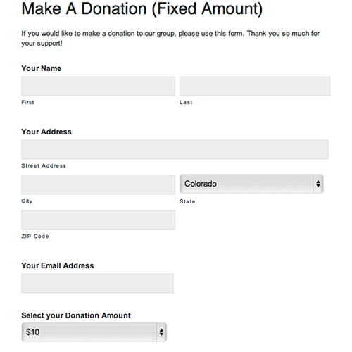 Donation Forms » Digital PTO Sample Forms